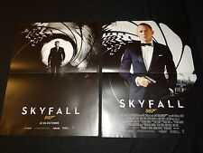 james bond 007 SKYFALL  daniel craig 2 affiches cinema