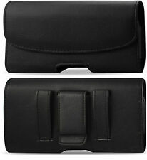 BELT CLIP HOLSTER LEATHER POUCH CASE FOR Motorola Z Force Droid Editio