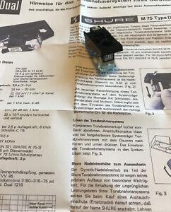 Shure Dual M75 System TK120 CS 1229,1228,1226,1225,1224,1219,1218,1216,1214,701.