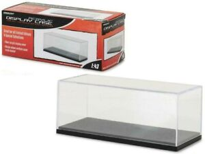 Acrylic Display Show Case with Plastic Base for 1/43 Scale Cars by Greenlight