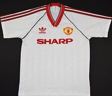 1988-1990 MANCHESTER UNITED ADIDAS AWAY FOOTBALL SHIRT (SIZE M)