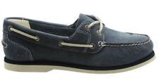 37,5 scarpe da barca da donna blu