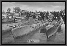 Russische U - Boote Blechschild Schild gewölbt Metal Tin Sign 20 x 30 cm