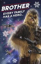 Star Wars Brother Christmas Card Chewbacca Disney