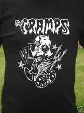 The Cramps Rockabilly Pin Up Shirt S M L XL Choose Size/Color All Variations