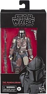 """MANDALORIAN 6"""" Star Wars The Black Series Action Figure. MINT. IN STOCK!"""