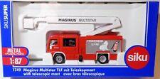 SIKU 1749 Magirus Multistar TLF mit Teleskopmast 1:87 Feuerwehr Neuheit 2020