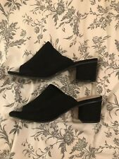 black mules size 6