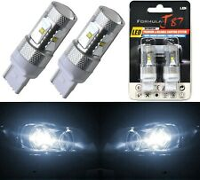 LED Light 30W 7440 White 5000K Two Bulbs Front Turn Signal Replace Upgrade
