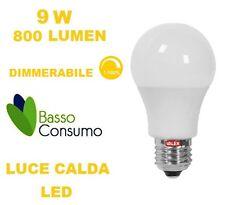 LAMPADINA LED GLOBO DIMMERABILE E27 LUCE CALDA 9W 800 LUMEN CL. A+ VALEX 1155174