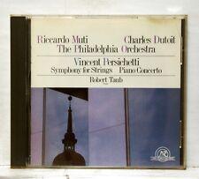 DUTOIT, TAUB - PERSICHETTI symphony for string, piano cto NEW WORLD RECORD CD NM