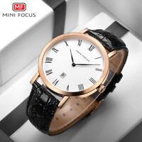 Armbanduhr Herren Quarz ultraflach Mini Focus