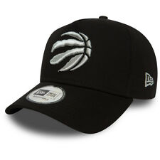 28e7dcf8e1b NEW ERA MENS TORONTO RAPTORS BASEBALL CAP.9FORTY NBA A FRAME BLACK HAT 8W2  62