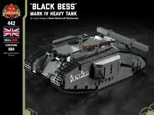 "Mark IV British Heavy Tank - ""Black Bess"" - Brickmania Custom LEGO Building Set"