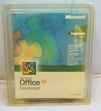 Microsoft Office XP Developer Upgrade Version 2002 - NEW