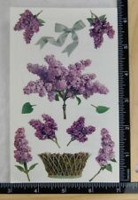 Mrs Grossman LILACS Stickers OUT OF PRINT