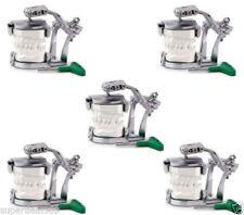 5Pcs A2 Dental Adjustable Articulator Dental Lab Equipment Full Teeth Model YS02