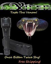 Viper 3280 MILLION Volt Self Defense Stun Gun LED Light, free Tazer holster