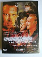 HIGHLANDER l?ULTIMO IMMORTALE DVD SIGILLATO ED. VENDITA Sean Connery C. Lambert