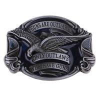 Classic Hawk American Western Cowboy Cowgirl Soaring Eagle Belt Buckle Gift