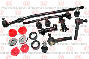 FORD Ranger 90 to 97 4WD Steering Parts Ball Joints Rack Ends Auto Truck Radius