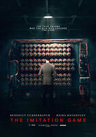 New Movie Poster Print: The Imitation Game A3 / A4