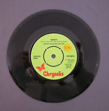"SG 7"" 45 rpm 1972 STEELEYE SPAN - GAUDETE / THE HOLLY AND THE IVY"
