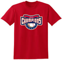 RED Washington Nationals 2019 World Series Champions T-Shirt