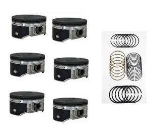 Set 95.5mm Pistons with Rings - Fit Z33 350Z VQ35DE