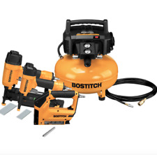 Bostitch 6-Gallon Portable Electric Pancake Air Compressor (3 Tools Included)