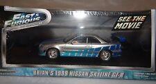 Greenlight 1:43 SCALA Fast & Furious Brian's 1999 Nissan Skyline GT-R 86208