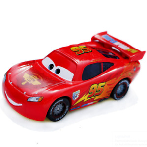 Disney Pixar Car Red Lightning McQueen Vehicle Diecast Kids Toy 1:55 Loose Metal