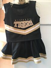 Missouri Tigers cheerleading outfit size 3