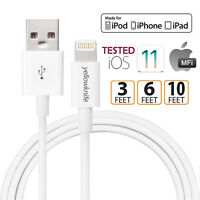 Anti-break Apple MFI Lightning USB Data Cable Charger For iPhone X 8 7 6 Plus 5s
