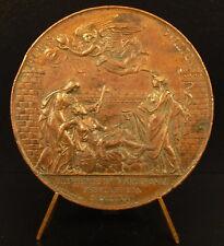 Médaille Espana Barcelona 1821 fiebre amarilla Espagne Peste épidémie medalla