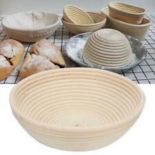 Indonesian Cane Bread Proofing Handwork Products Rattan Round Basket Handicraft