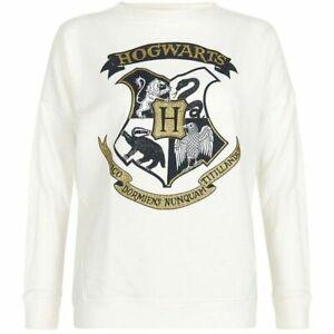 New Look Cream Hogwarts Sweater UK 12 RRP £19.99 LN017 LL 12