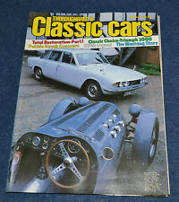 Thoroughbred & Classic Cars January 1983 buyingTriumph 2000, Ford Mustang,Abarth