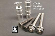 CZ 455 Profiled Pillar Kit DIY Stock Pillar Bedding w/ Upgraded Action Screws