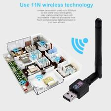 300M USB 2.0 WiFi Wireless Network Card 802.11b/g/n LAN Adapter Antenna