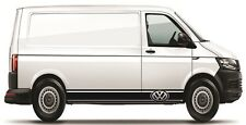 Volkswagen VW Side Stripes Decals Transporter T4 T5 Campervan Caddy sticker