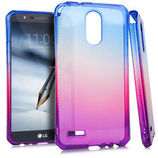 For LG STYLO 3 / STYLO 3 PLUS - Purple Popsicle Rubber Silicone TPU Case Cover