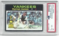 1971 Topps Thurman Munson Vintage Baseball Card #5 New York Yankees VG-EX PSA 4