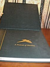 A PORTRAIT OF SHOOTING BY JOHN MARCHINGTON LTD EDITION BOOK