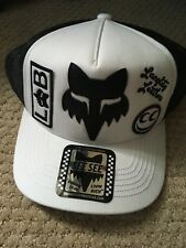 Fox Racing Collaboration Hat-  One Size Fits All Snap Back