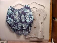 GIRLS CLOTHES - GAP Kids and Justice Tops - SIZE 8 and 8/10
