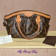 Gorgeous Authentic Louis Vuitton Monogram Tivoli PM Bag w/Dustbag & Receipt