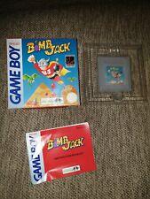 NINTENDO Gameboy - Bomb Jack Complete In Box Infograms