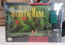 SNES Secret of Mana SNES Great condition complete RARE