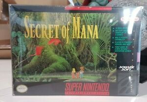 SNES Secret of Mana SNES Great condition complete RARE